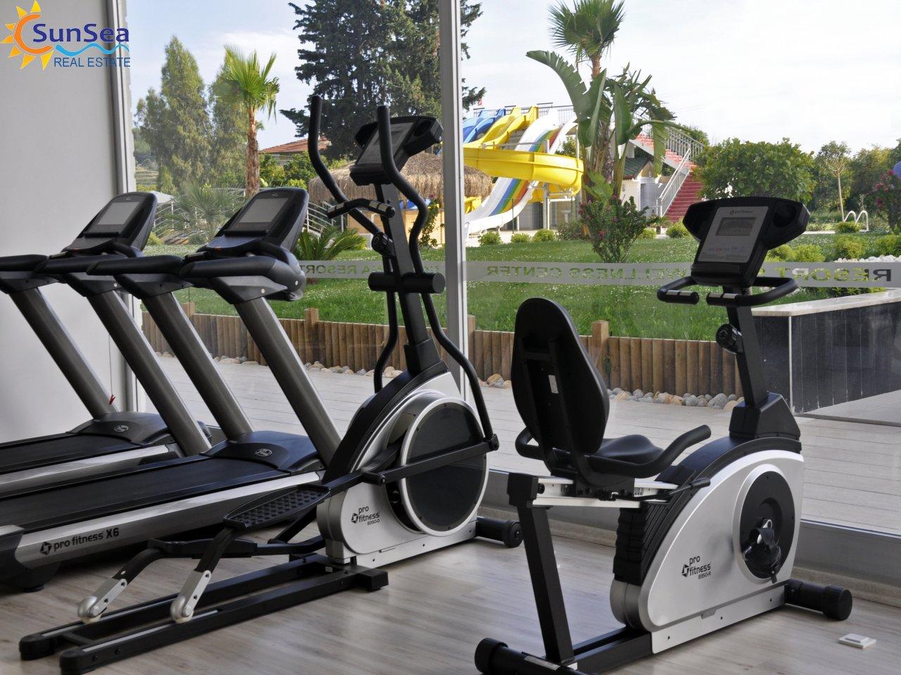 Alanya Fortuna Resort fitnes