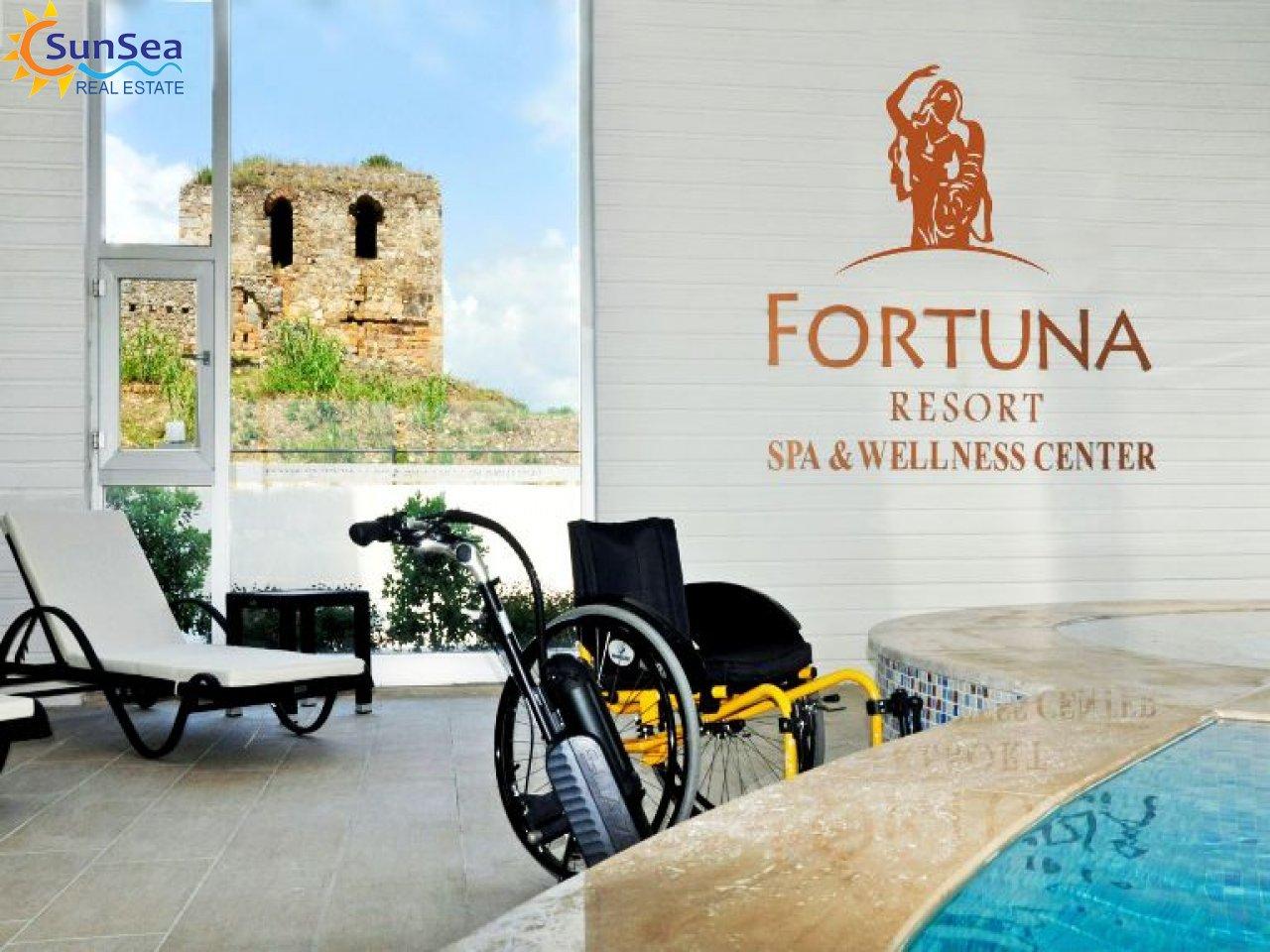 Fortuna Resort Demirtaş wheelchair