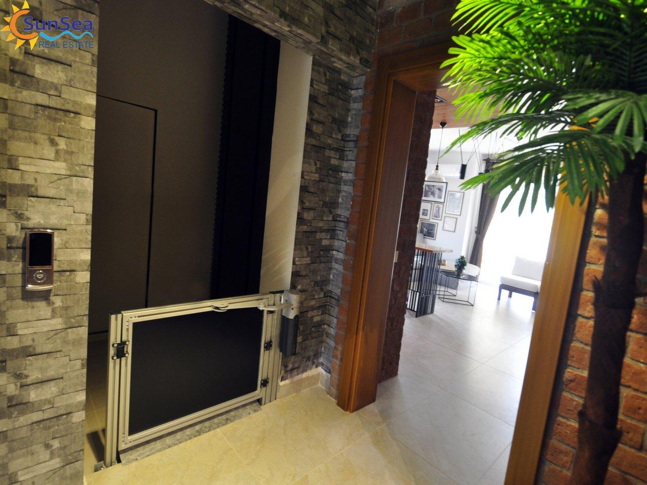 Alanya fortuna resort lift