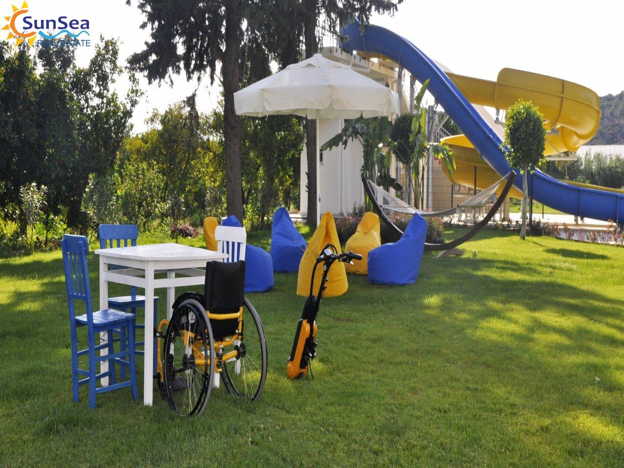 Fortuna Resort Demirtaş Disability Access