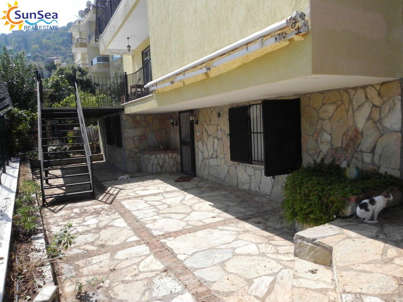 Alanya Harbour Apartment garden