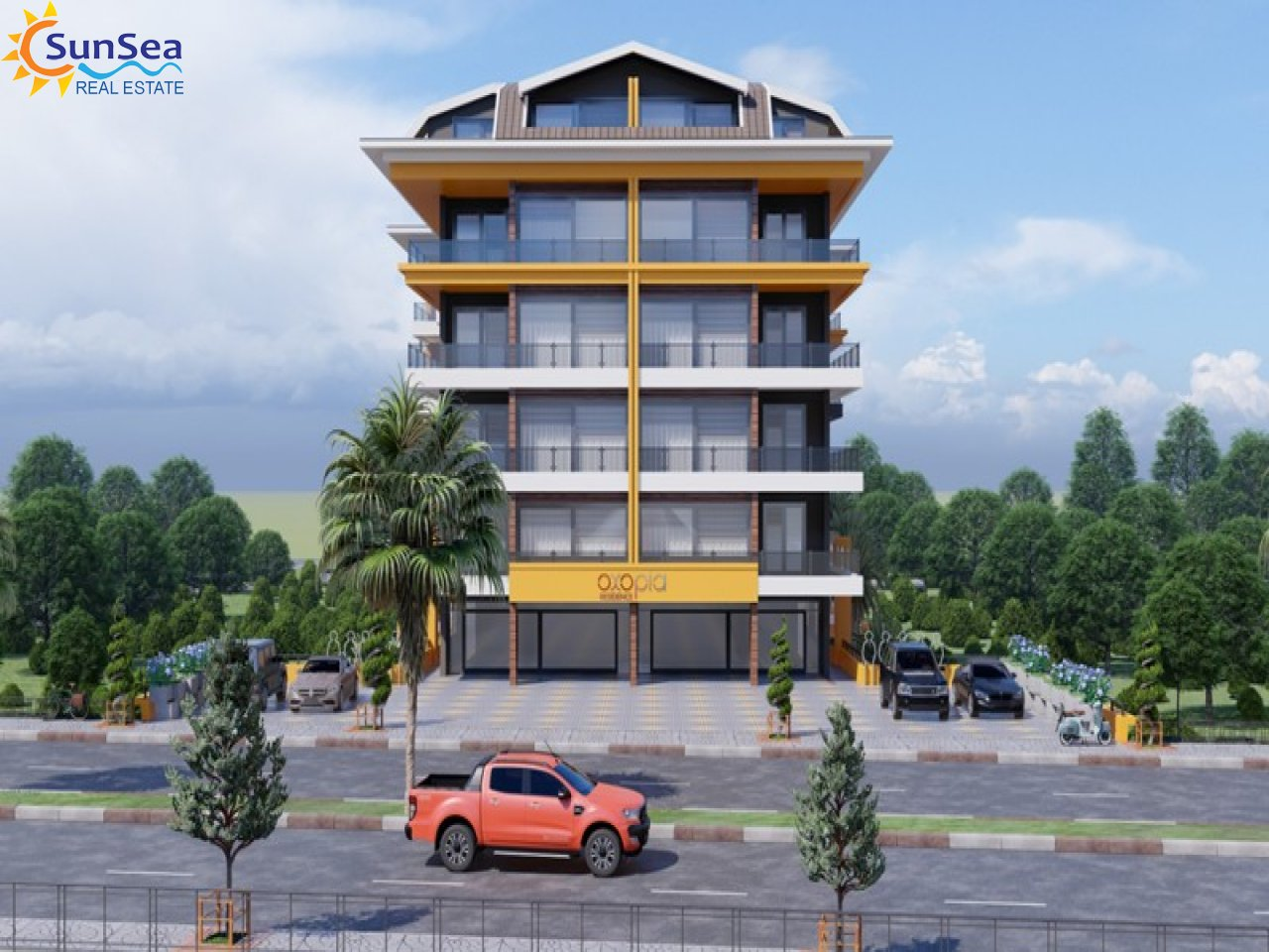 Oxopia Residence front