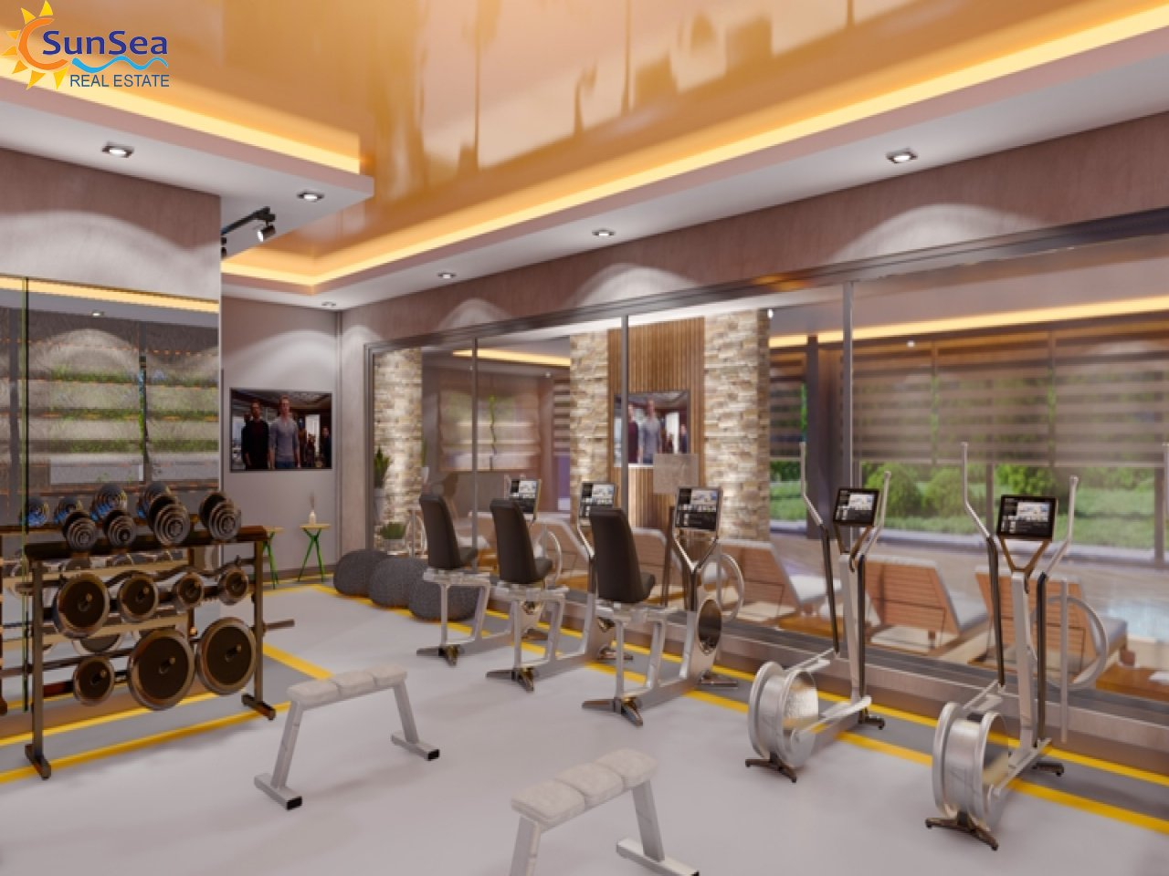 Oxopia Residence fitnes