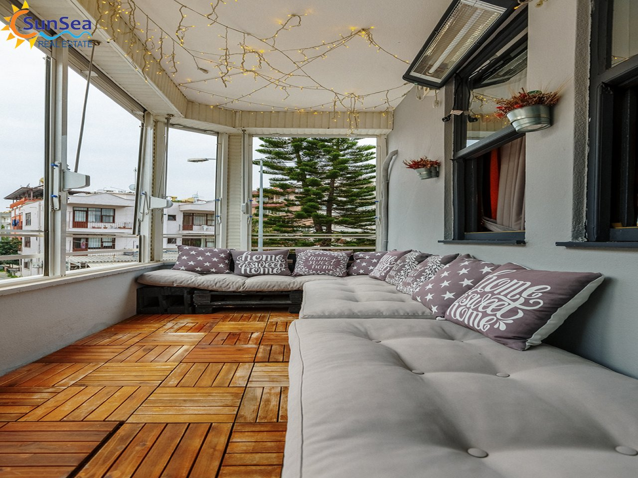 özkaya apart balcony