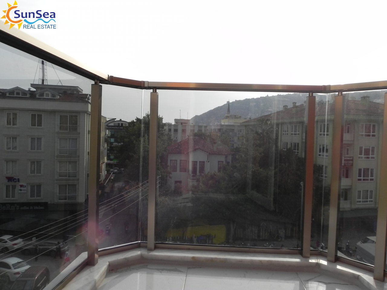 pazar apart balcony