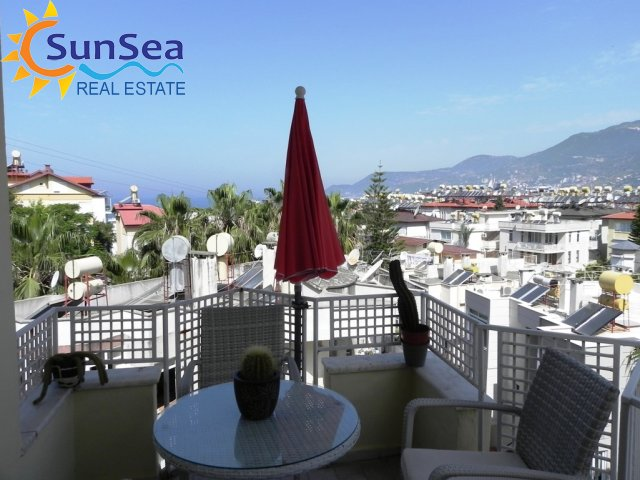 Nice apartment direct at cleopatra beach with seaview!